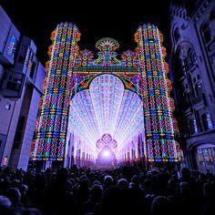 Lichtfestival Gent 2012 in een video van Lieven Vanoverbeke