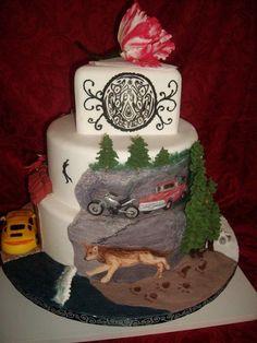 Twilight cake! Nice!