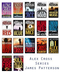 Probably my all time favorite series....Alex Cross Series by James Patterson