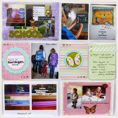 Project Life Norge: Barnehage- og skulestart og litt om apper