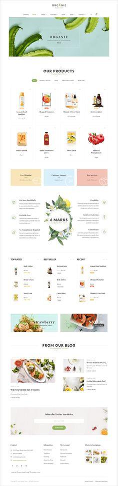 responsive ecommerce web site design ideas