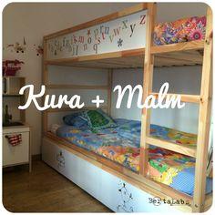 *LABS 02: DIY CAMA KURA + CAJONES MALM* No voy a descubrir nada nuevo si digo que para los fans de Ikea que tengan niños la cama Kura es el paradigma d... - Berta Labs - Google+