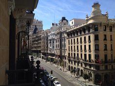 Madrid, Spain -- west along the Gran Via