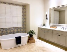 Here are some of my past projects. Click on the title links to see more. Creating a New Classic Neutral Living Room in a Two Story Space  Modern Family Room and Kitchen Remodel  Compact But Fresh Powder and Laundry Rooms Fresh Mediterranean Master Bath Renovation Updated Dining Room...Read More »