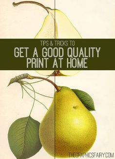 Tips to Get a Great Quality Print of Your Images! - The Graphics Fairy
