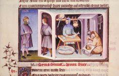 les truites Comédies de Térence, début du XVe siècle Paris, BnF, département des Manuscrits, Latin 7907 A fol. 83