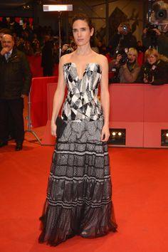 Jennifer Connelly in Chanel at the Berlin Film Festival Aloft premiere.