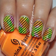 China Glaze Summer Neons and BM 319