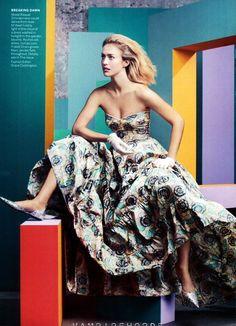 Raquel Zimmermann by Craig McDean for Vogue