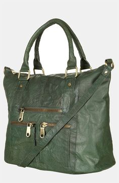 Topshop Washed Leather Satchel #Nordstrom