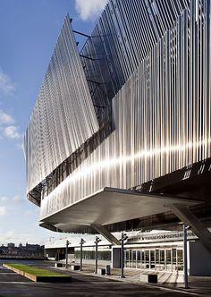 Stockholm Waterfront Congress Center, Stockholm designed by White arkitekter