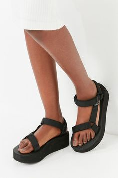 b6af460b966 Teva Universal Flatform Sandal | Urban Outfitters Teva Universal, Wedge  Flip Flops, Beach Flip