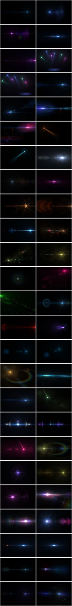 Custom Lens Flares Pack – 50 Free High Resolution Transparent Images | Media Militia