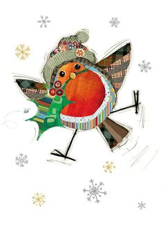 Quality greeting cards designed and published in the UK. Browse our ranges and shop online for decorative everyday designs and Christmas cards. Diy Christmas Cards, Christmas Images, Xmas Cards, Christmas Art, Christmas Projects, Christmas Ornaments, Greeting Cards Uk, Illustration Noel, Bug Art