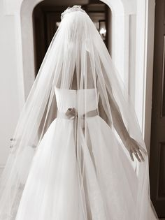 17. A Classic Veil Shot From Behind