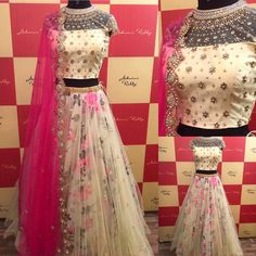 This cool pastel floral ensemble calls for a blissful beautiful summer dream from ashwinireddy ar arbride 17 April 2017