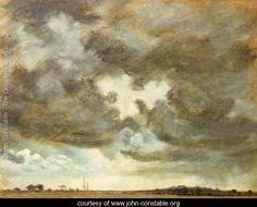 A Cloud Study - John Constable - www.john-constable.org