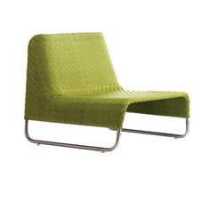 Air chair by Le Cèdre Rouge #homedecor #decoration #home #chair #lime #green