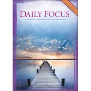 Daily Focus: A Devotional for Homeschoolers by  Homeschoolers  -  Have you ever experienced weariness as a result of homeschooling your children?  Sometimes a little encouragement can make all the difference in the world.