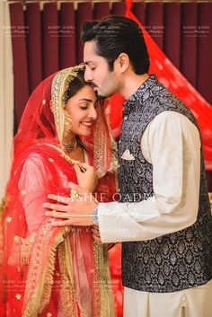 Ayeza khan and Danish Taimoor at their nikah ceremony Indian Wedding Couple, Wedding Couple Poses, Couple Posing, Wedding Pics, Wedding Couples, Wedding Album, Wedding Ideas, Indian Weddings, Romantic Couples