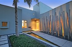Residential landscape design ideas that helps you to have a heavenly outdoor design for your home. Residential Landscaping, Backyard Landscaping, Garden Architecture, Architecture Design, Outdoor Spaces, Outdoor Living, Landscape Design, Landscape Grasses, Gate Design