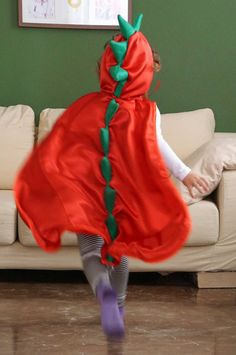 Dinosaur cape Dragon cape Kids cape Dress up cape by CrafterMama (scheduled via http://www.tailwindapp.com?utm_source=pinterest&utm_medium=twpin&utm_content=post139104335&utm_campaign=scheduler_attribution)