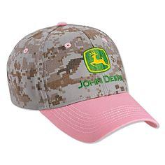 John Deere Pink Digital Camo Cap * Click image for more details. John Deere Merchandise, John Deere Store, Tractor Logo, John Deere Hats, Trademark Logo, Digital Camo, John Deere Tractors, Fashion Brands, Women's Fashion
