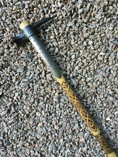 """norseminuteman: """"Skoll and Hati Customs Ragnarok War Hammer """""""