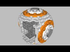 How to build your own Lego 'Star Wars' BB-8