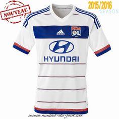boutique Maillot de foot Lyon Domicile 2015 2016 en ligne
