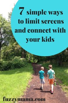 Some easy ways to keep your kids off screens, have fun, and connect with each other. Everybody wins!