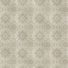 Sample Tendilla Taupe Lattice Wallpaper from the Alhambra Collection by Brewster Home Fashions