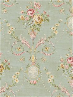 wallpaperstogo.com WTG-093208 Seabrook Designs Traditional Wallpaper