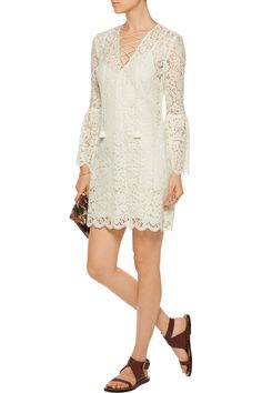 Shop on-sale Rachel Zoe Megali corded lace mini dress. Browse other discount designer Dresses & more on The Most Fashionable Fashion Outlet, THE OUTNET.COM
