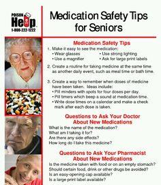medical tips for seniors