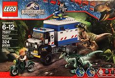 LEGO NEW JURASSIC PARK WORLD STICKER SET FROM 75917
