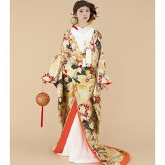 TAGAYA BRIDAL(タガヤ ブライダル)☆大胆なまり柄が印象的☆和装でも自分らしさを追求されたい方にオススメ♪|ウエディングドレスを探す|ゼクシィ