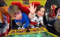 NAMORADA NO SHOPPING!! Carro de Brinquedo no Parque de Diversões ❤
