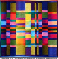 Fibonacci quilt  #5 by Caryl Bryer Fallert