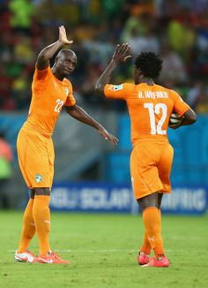 View World Cup group stage - Ivory Coast vs. Japan pictures on Yahoo Sports Canada. See World Cup group stage - Ivory Coast vs. Japan photos and find more pictures in our photo galleries. World Cup 2014, Fifa World Cup, Sol Bamba, Wilfried Bony, World Cup Groups, Ivory Coast, Brazil, Football, Japan