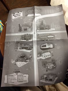 Behind the Thrills | SDCC 2016: Awesome Radiator Springs Map Given to Attendees