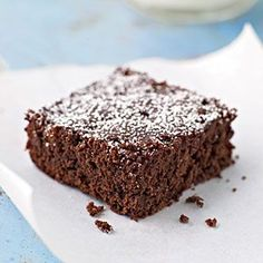Dark Chocolate and Cherry Brownies - 100 Delicious Recipes for Chocolate Desserts - Cooking Light Diabetic Chocolate Cake, Dark Chocolate Recipes, Dark Chocolate Brownies, Diabetic Desserts, Chocolate Cherry, Chocolate Desserts, Diabetic Cake, Diabetic Recipes, Pre Diabetic