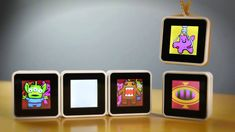 Sifteo cubes promote kinetic learning through play.