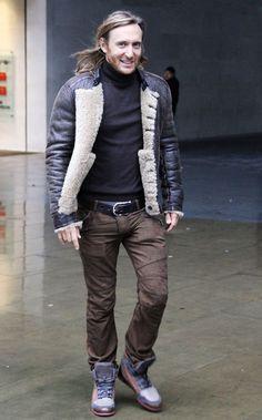 David Guetta taking a walk