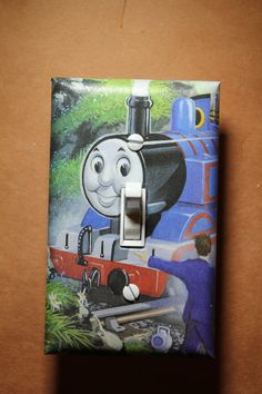 Thomas the Tank Engine Light Switch Plate Cover by ComicRecycled