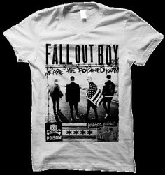 FALL OUT BOY Band Photo Poisoned Youth Tee