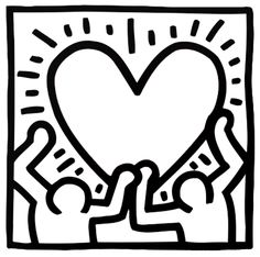 List of Synonyms and Antonyms of the Word keith haring template