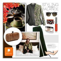 """Popmap 4"" by melissa-de-souza ❤ liked on Polyvore featuring Emilio Pucci, Etro, By Terry, Lancôme, Bottega Veneta, vintage, women's clothing, women's fashion, women and female"