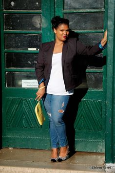 Chlencherei : Must Have: Blazer plus size inspiration