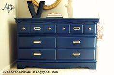 On the V Side: In the Navy [Dresser Update & Storage Solution] (HoH165)